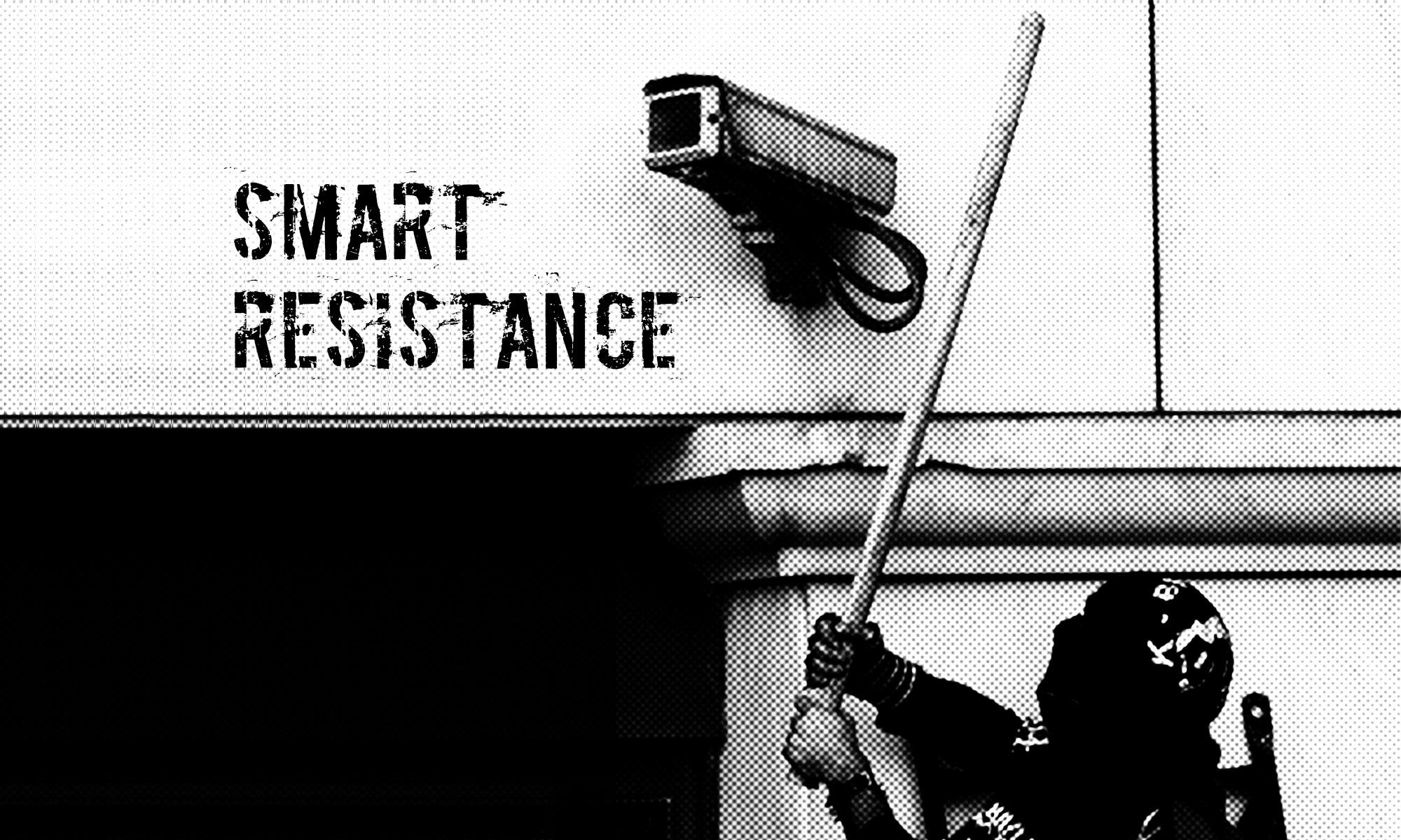 Demo gegen den europäischen Polizeikongress